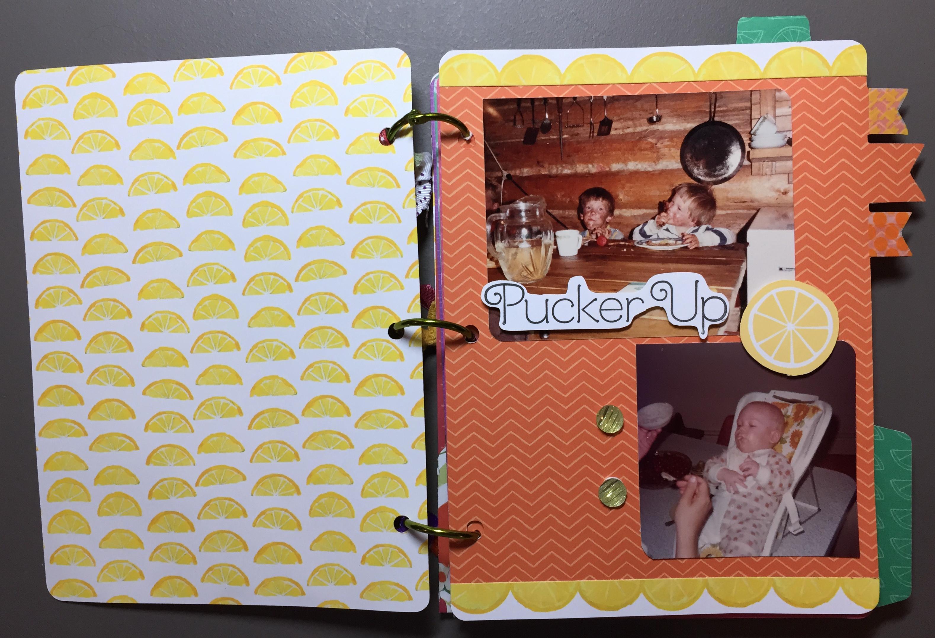 Taste of Summer Album Page 1 - 2 Overview