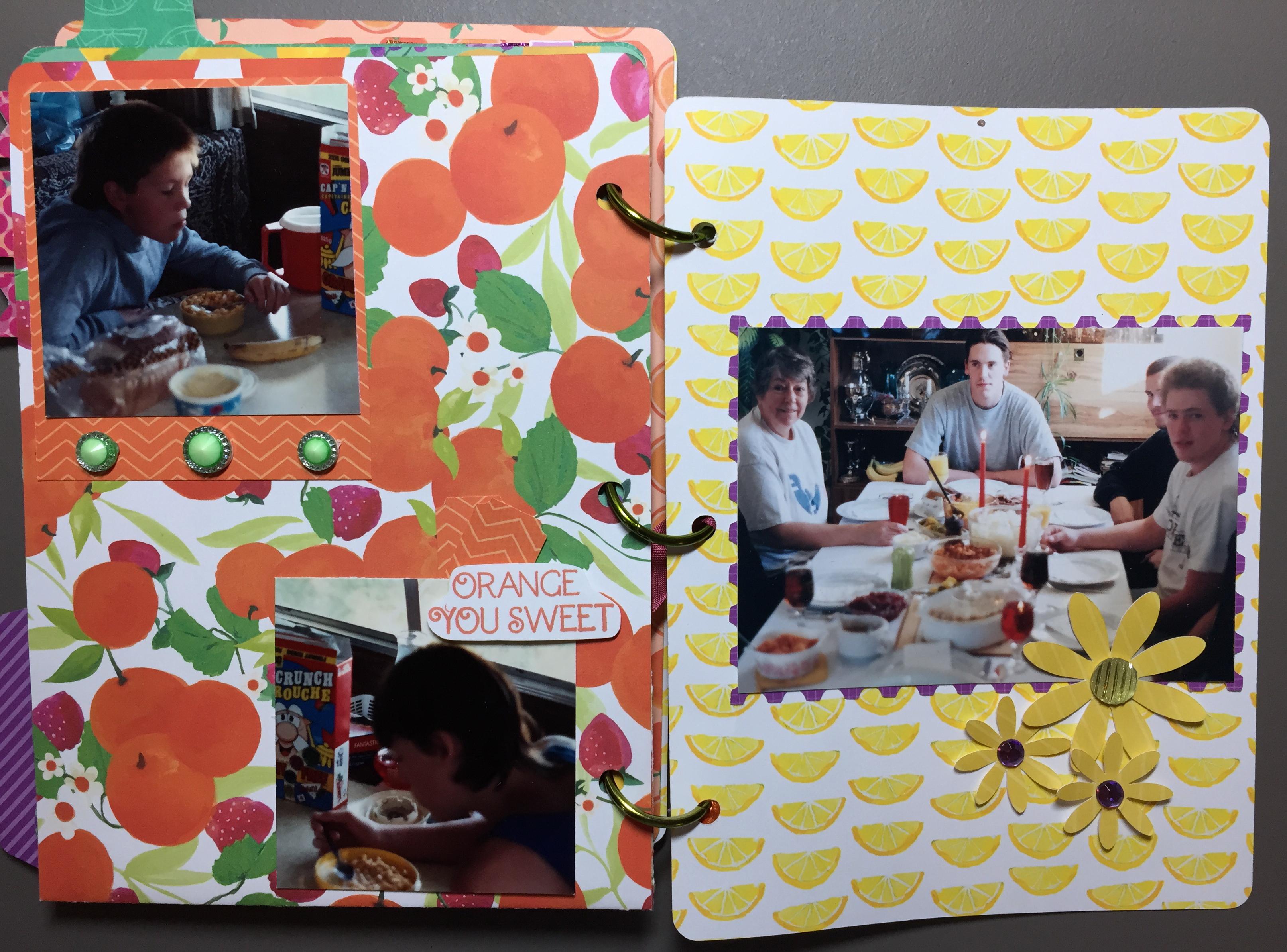 Taste of Summer Album Pg 13 - 14 Overview