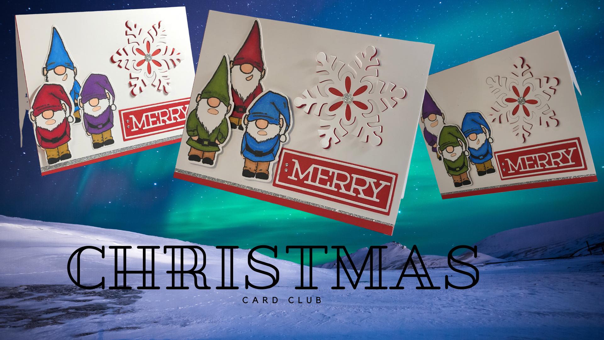 CHRISTMAS CARD CLUB!