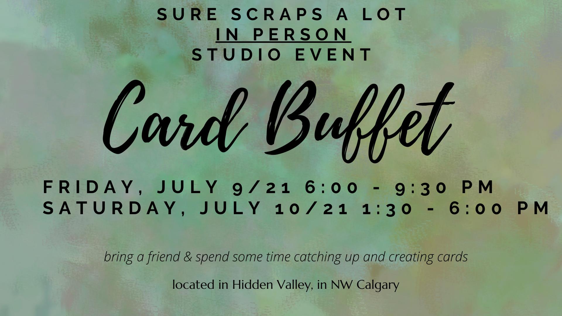 CARD BUFFET – SUMMER 2021